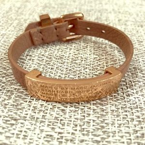 Marc by Marc Jacobs leather belt Bracelet